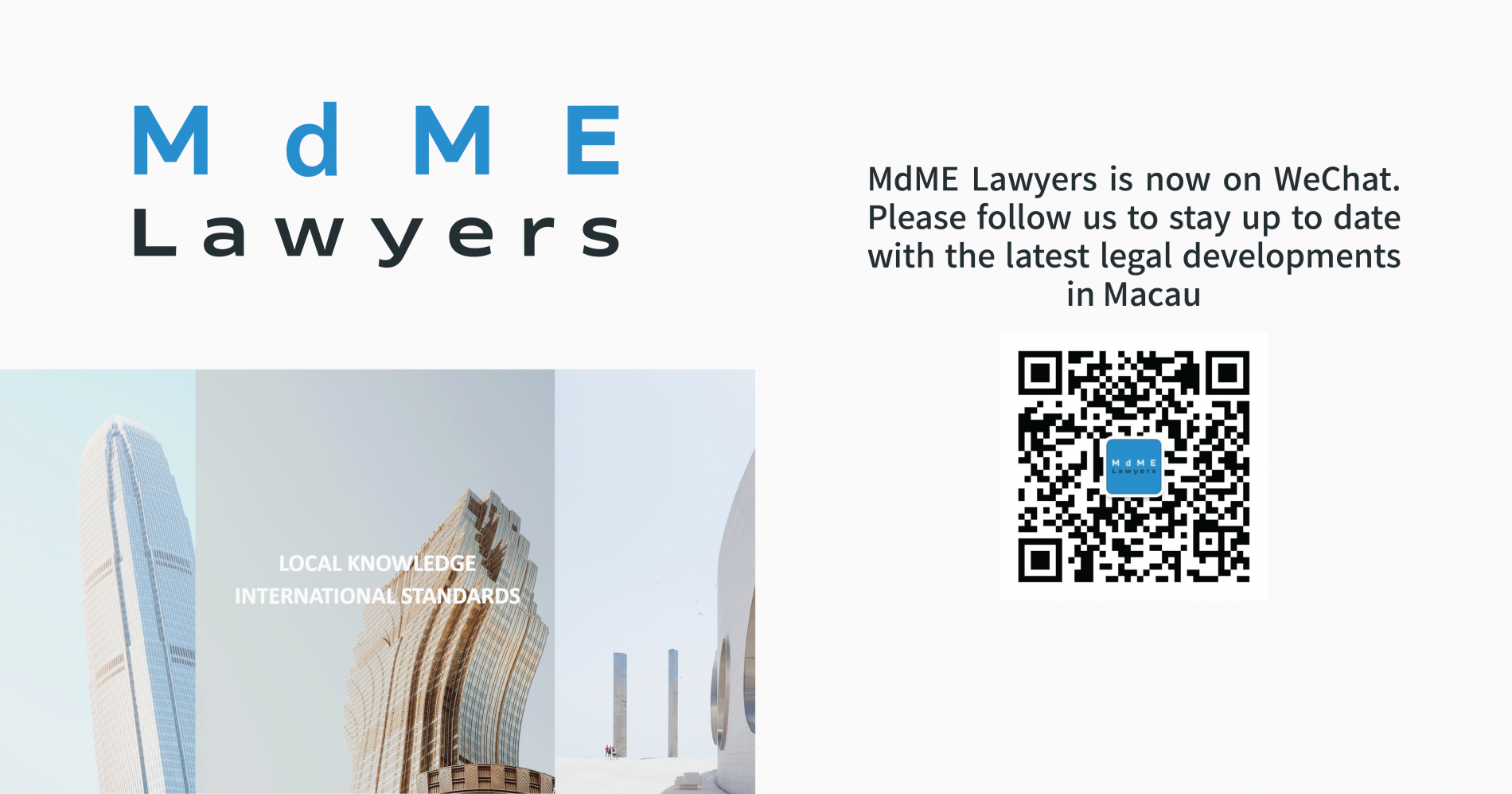 MdME Lawyers is now on WeChat!